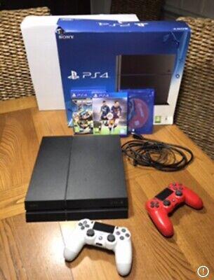 console ps4 + 500gb + 2pad + 3 Giochi