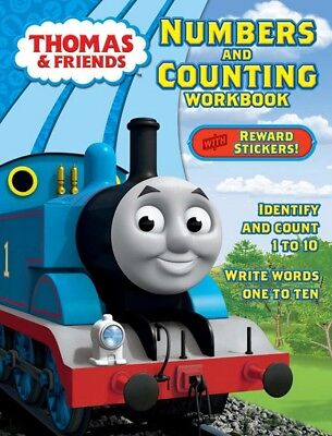 NEW Thomas & Friends Numbers and Counting Early Learning Workbook w/ Stickers