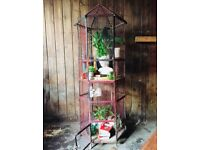 Large Metal French Aviary Bird Cage Display Unit