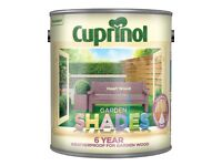 Cuprinol Garden Shades - 2.5L X 5 Tins