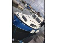 Hardy pilot 20 boat for sale currently moored in Chichester harbour