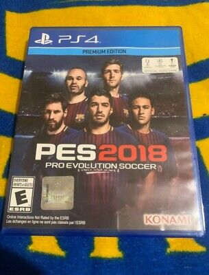 Pes 2018 PS4 PlayStation 4 Pro Evolution Soccer