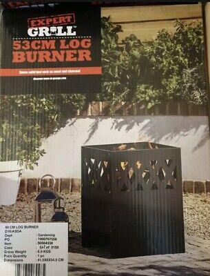 🔥Garden Firepit Log Burner Patio Heater Wood Burner Free Fast UK Delivery 🚛🔥