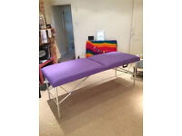 Massage therapy beauty couch