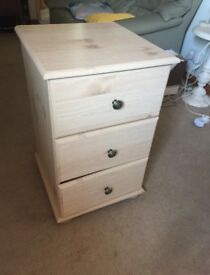 Small Chest of Draws Bedside Cabinet Storage