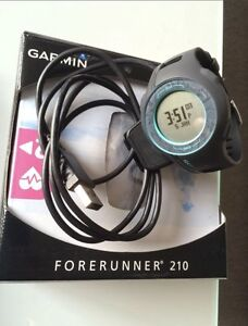 GARMIN FORERUNNER 210 - GPS ENABLED SPORTS WATCH