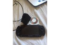PSP Slim with Tekken 6 game