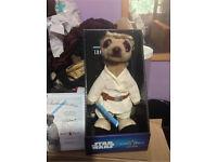 ✨DONATING TO CHARITY✨Luke Skywalker Star Wars Meerkat Toy
