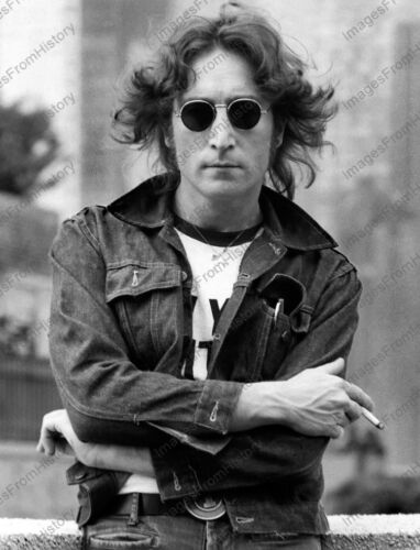 8x10 Print The Beatles John Lennon #98823