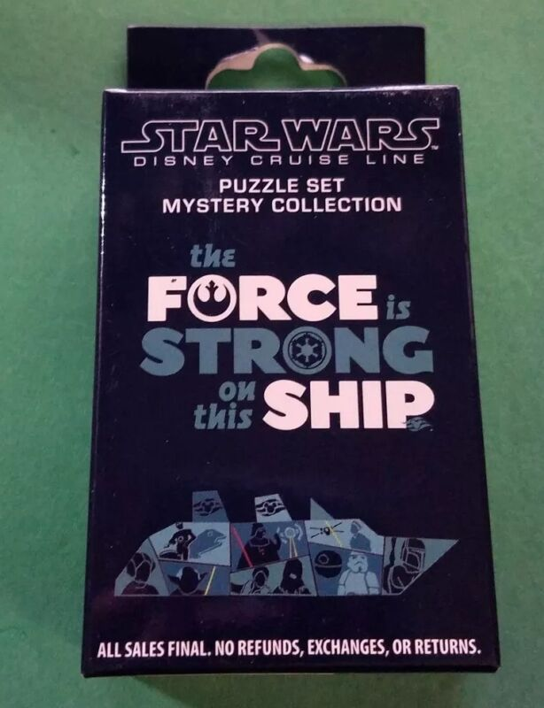 Disney Cruise Line Pins The Force Is Strong on This Ship Mystery Pin Box Sealed