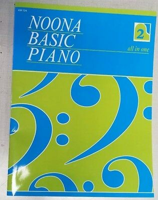 NOONA BASIC PIANO Course ALL IN ONE Book 2 - Piano Lesson Sheet Music (Noona Basic Piano Book)