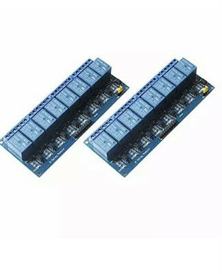 2pcs 8 Channel 5v Relay Module Control Board Woptocoupler For Uno R3 Mega 2560.