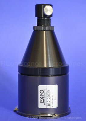 X-cite Exfo 810-00030 Collimating Adapter For Nikon Fluorescence Microscope