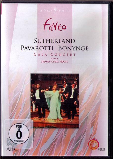 DVD Luciano PAVAROTTI Joan SUTHERLAND Richard BONYNGE Gala Concert Sydney 1983