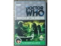 BBC Dr Who Tom Baker Genesis Of The Daleks DVD.