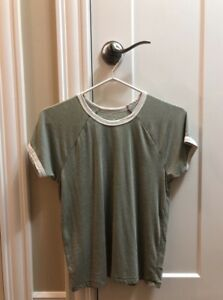 Olive Green American Eagle Shirt
