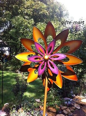 Kinetic wind Sculpture Modern Art Dual sun ...