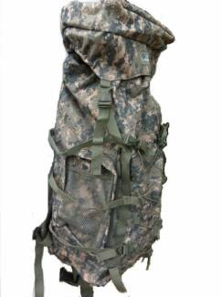 70 Litre Heavy-Duty Water-Proof Rucksack (Backpack), Green Camo Marangaroo Wanneroo Area Preview