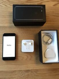 iPhone 7, 256GB, Jet Black, Factory Unlocked, Warranty till Jan 2018, Immaculate, Fully Boxed!