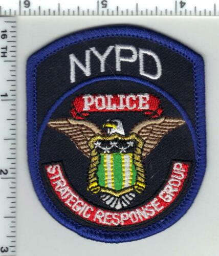 Strategic Response Group Police Unit Cap/Hat Patch