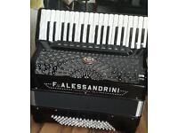 Alessandrini 96 Bass Double Cassotto Piano Accordion