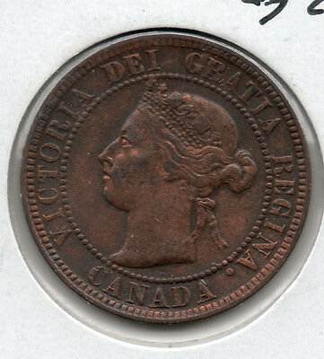 NICE 1897 CANADA LARGE CENT BUY IT NOW