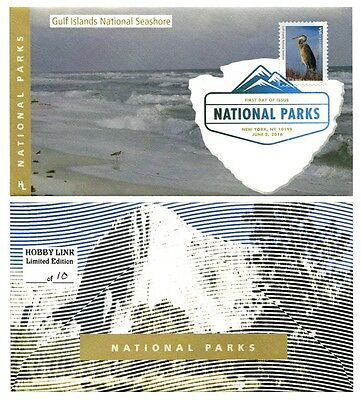 Gulf Island National Seashore First Day Cover With Color Cancel