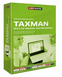 Taxman Rentner & Pensionäre 2012 (Version 18.00) (für Steuerjahr 2011) - NEU