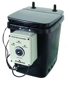 Grow Flow Ebb and Gro Controller Unit /2 pumps 7 Gallons Free Shipping!!!