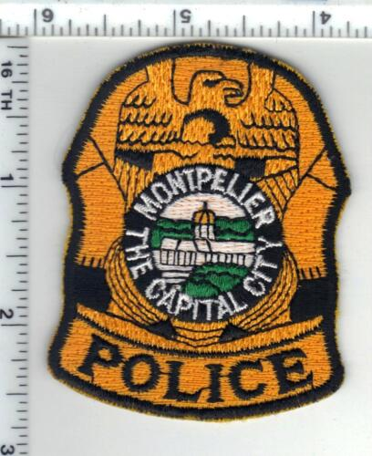 Montpelier Police (Vermont) Cap/Hat Patch from the 1980