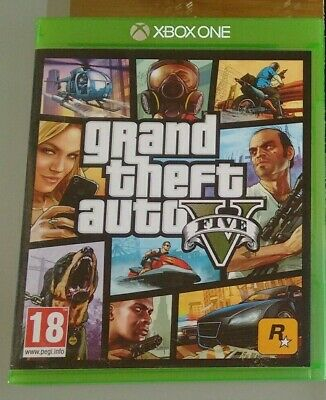 GTA 5 Grand Theft Auto V Xbox One Excellent Condition for sale  Shipping to Nigeria