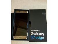 GOLD Samsung Galaxy S7 Edge 32GB *Unlocked* (Brand New)