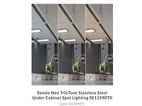 Brand new kitchen under cabinet spot lights (box of 3 lights)