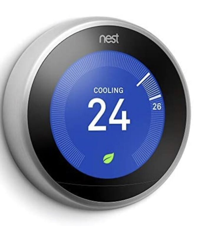 Brand New Nest Learning Thermostat - 3rd Generation - T3007ES