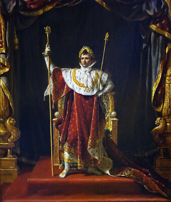 """high quality oil painting handpainted on canvas """"Napoleon""""@N10905 for sale  Shipping to Canada"""