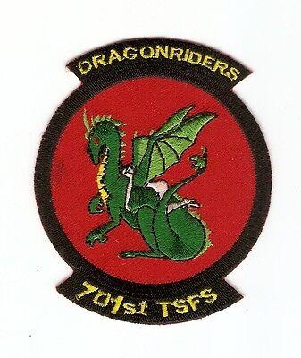 + STARGATE SG-1 Aufnäher/Patch F-302 401st Earth Starfighter Squ. DRAGONRIDERS