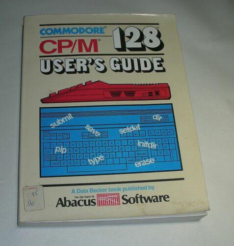 Commodore CP/M 128 User