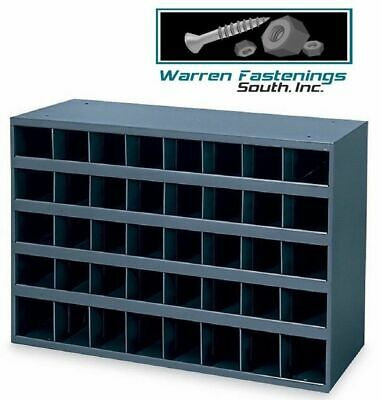 Metal 40 Hole Storage Bincabinet For Bolts Screws Nuts Washers Fasteners