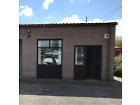 Small Industrial Unit | Storage | Workshop | Office TO LET - Flexible Terms