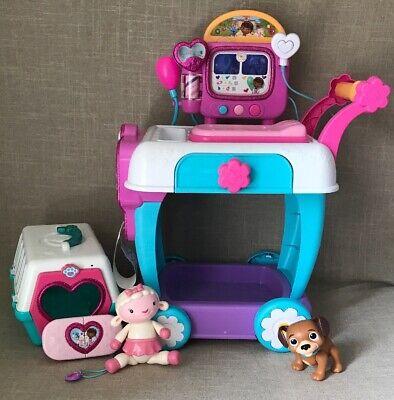 Lot Of Disney Doc McStuffins Hospital Care Clinic Cart](Doc Mcstuffins Cart)