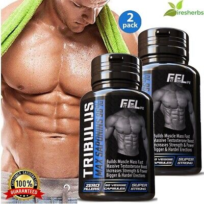 #1 BEST TRIBULUS TESTOSTERONE BOOSTER MUSCLE GROWTH SUPPLEMENT PILL 120