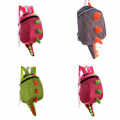 Dinosaur Backpack Dragon Waterproof School Bag Boy Girl Cartoon Kindergarten PJ ()