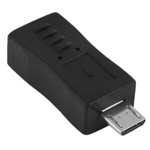 Universal Mini USB Female to Micro USB Male Connector Adapter Convertor GT