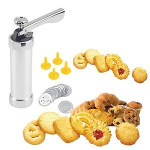 Cookie extruder Press Machine Biscuit Maker Cake Making Decorating Set GT