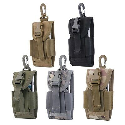 Oxford Travel Kit 4.5 Inch Tactical Bag With Hook For Mobile Phone Army 5r Mobile Travel Kit