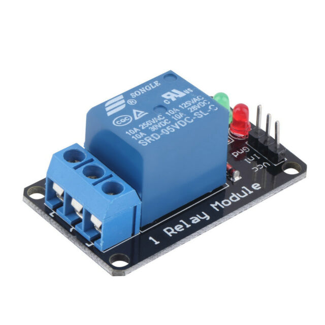 Effective Stable 1 Channel 5V Indicator Light LED Relay Module For Arduino Gasad