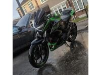 Beautiful kawasaki low mileage to sale or swap for R6, CBR RR or GSXR