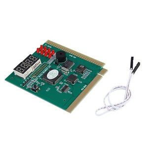 4-Digits Analysis Diagnostic Motherboard Tester Desktop PCI Express Card GT