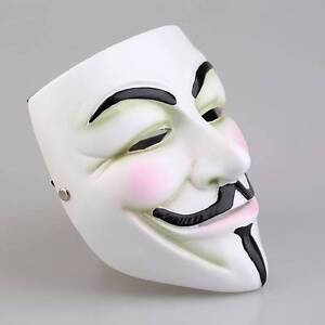 V For Vendetta  (Anonymous) Mask North Melbourne Melbourne City Preview