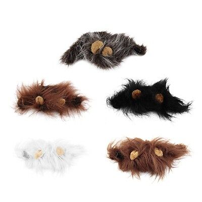 e Wig for Cat Halloween Christmas Party Dress Up With Ear Sw (Hund Lions Mane)